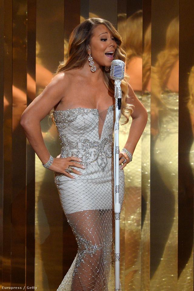Mariah Carey a BET-díjátadón