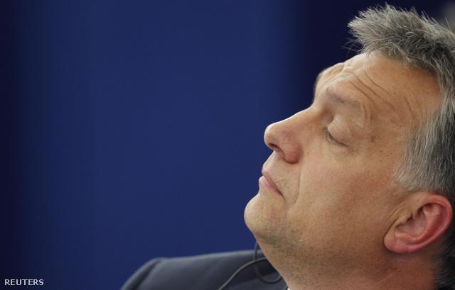 Orbán Viktor a Tavares-jelentés EP vitáján