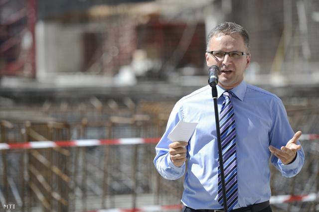 Wachsler Tamás a rekonstrukcióra létrehozott Steindl Imre-program vezetője