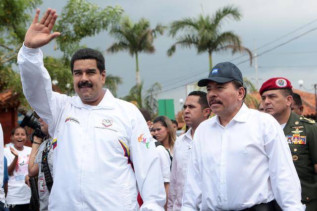 Nicolas Maduro és Daniel Ortega tárt karokkal várják Snowdent