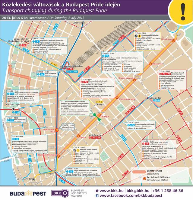BKK Közlekedési-változások-a-Budapest-Pride-idején