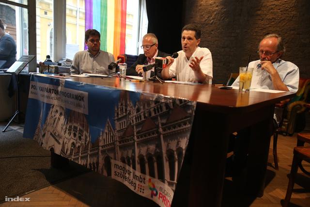 Schiffer András a Pride előtt tartott vitán