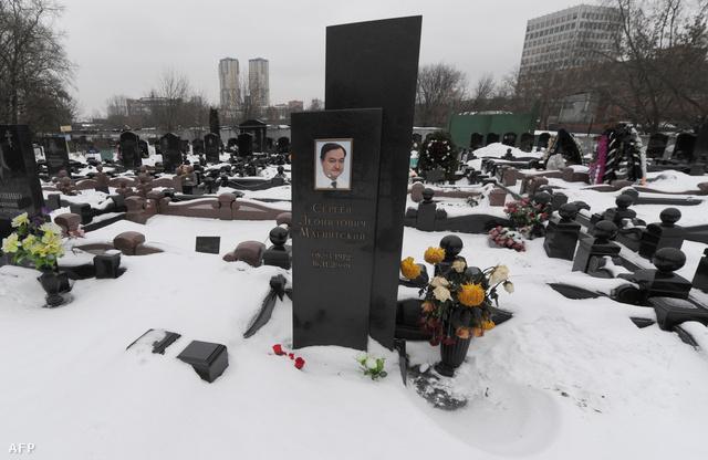 Magnyitszkij sírja Moszkvában