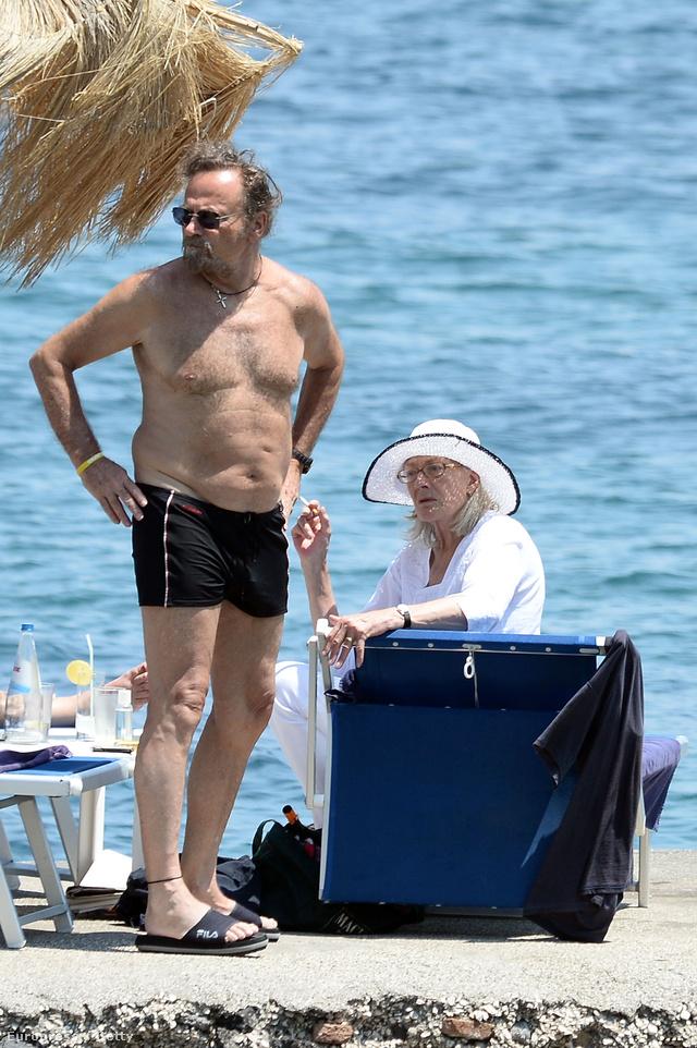 Franco Nero és Vanessa Redgrave a 2013-as Ischia Global Festen, Olaszországban