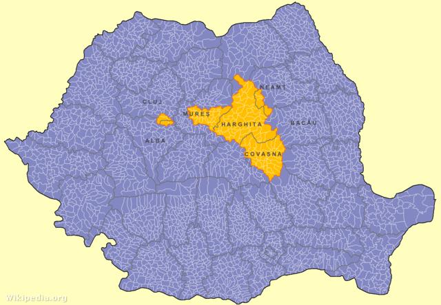 A történelmi Székelyföld