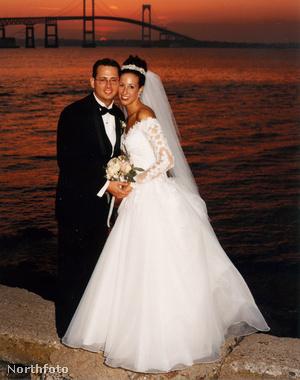 Még egy esküvői fotó 1998-ból