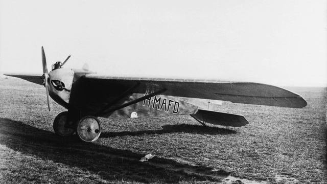 Lampich Árpád L2-es repülőgépe 1927-ben (Fotó: Collection Burányi)