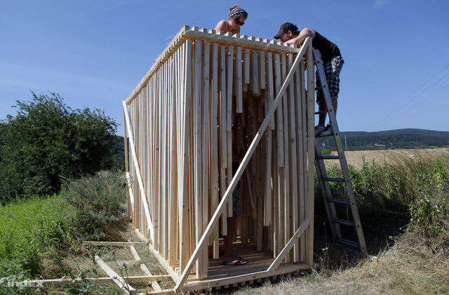 A nyertes munka: POLIPHONY                          Tomasz Szponar, Bartłomiej Skowronek (Moomoo Architects)