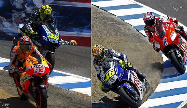 Marquez-Rossi 2013 és Rossi-Stoner 2013