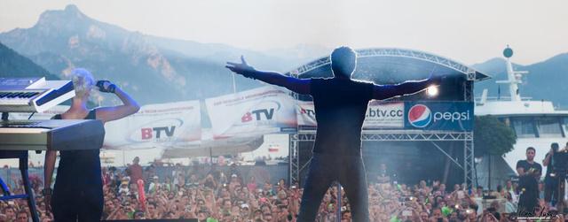 Hasselhoff a saját tiszteletére rendezett fesztiválon