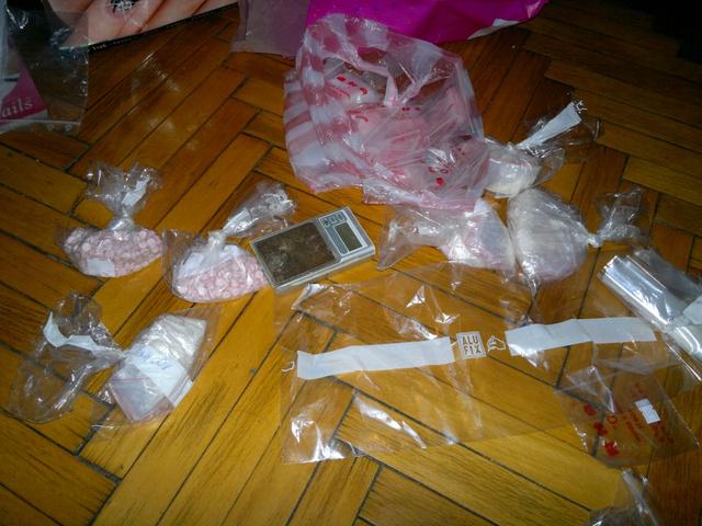 Az akció során lefoglalt kábítószerek egy része