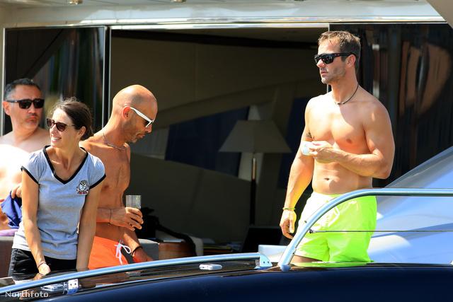 Sébastien Loeb Saint-Tropez-ban nyaral
