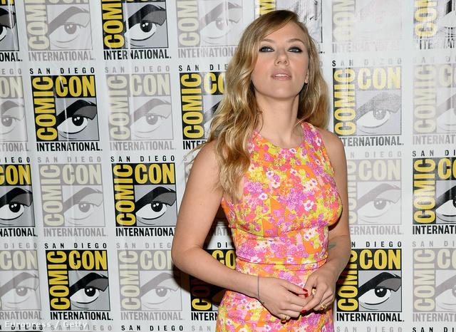 Scarlett Johansson a Comic-Conon San Diegóban