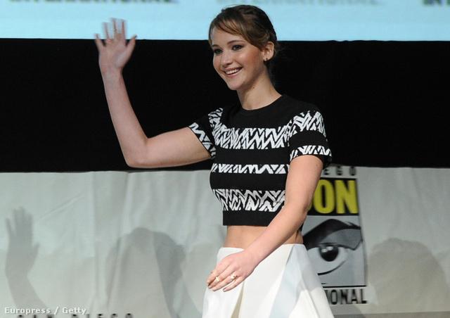 Jennifer Lawrence a Comic-Conon San Diegóban