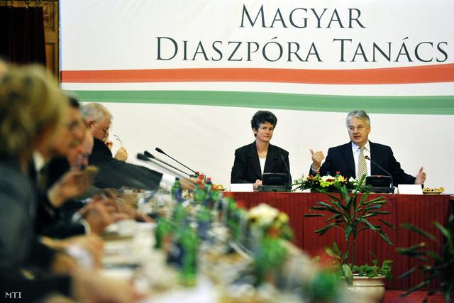 2011. november 17. A Magyar Diaszpóra Tanács alakuló ülése.