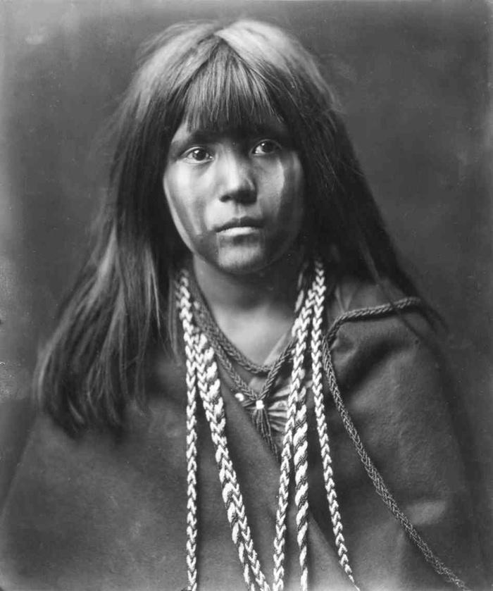 Mohave gyerek (1903 körül)