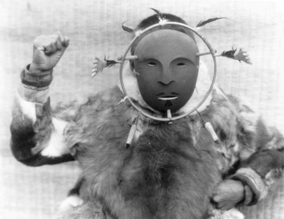 Nunivak szertartási maszk (1929 körül)
