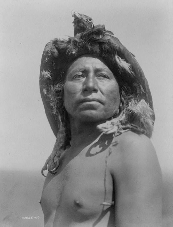 Apszaroke sámán (1908 körül)