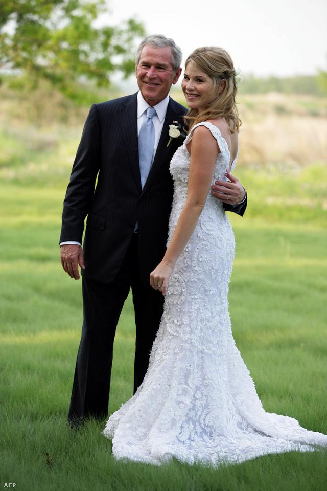 Jenna Bush esküvője
