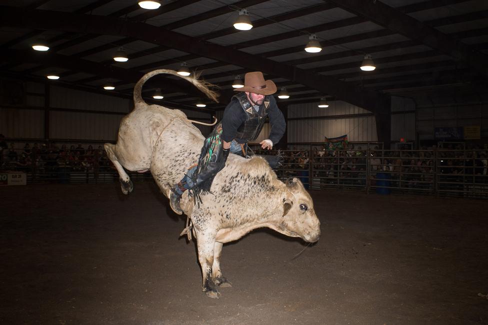 Abingdon, Virginia, 2013. A rodeó a déli államok egyik legtipikusabb szórakozása.