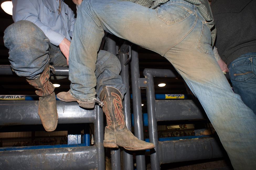 Abingdon, Virginia, 2013. A rodeó óriási biznisz az amerikai Délen, évi 650 show-n összesen 30 millió dollárnyi pénzdíjért versengenek a cowboyok.