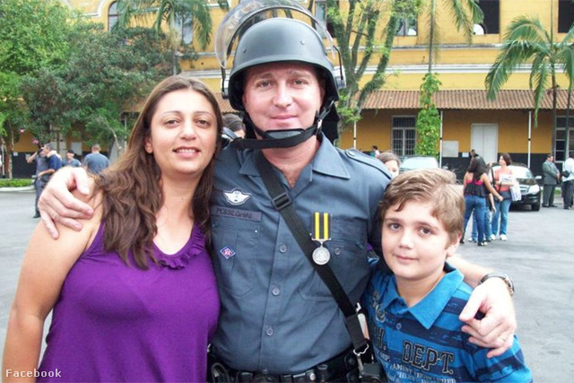 Marcelo Pesseghini családjával