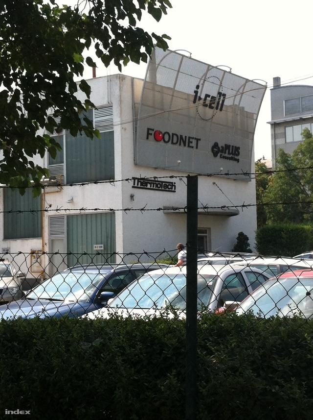 Az i-Cell zuglói székháza