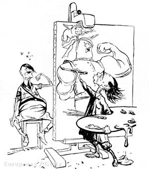 Goebbels-karikatúra