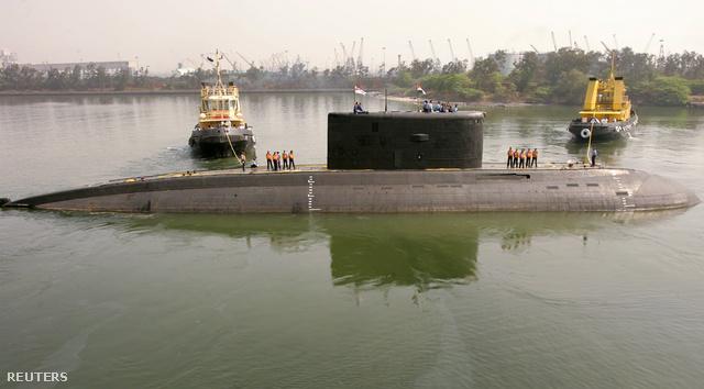A tengeralattjáró egy 2006-os fotón