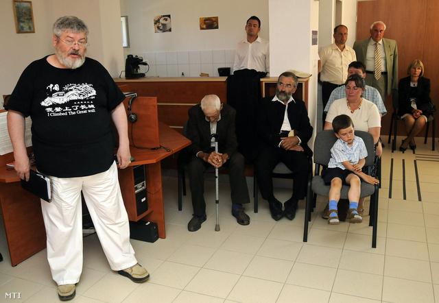 Szőcs Géza a Faludy György Közösségi Ház névadó ünnepségén
