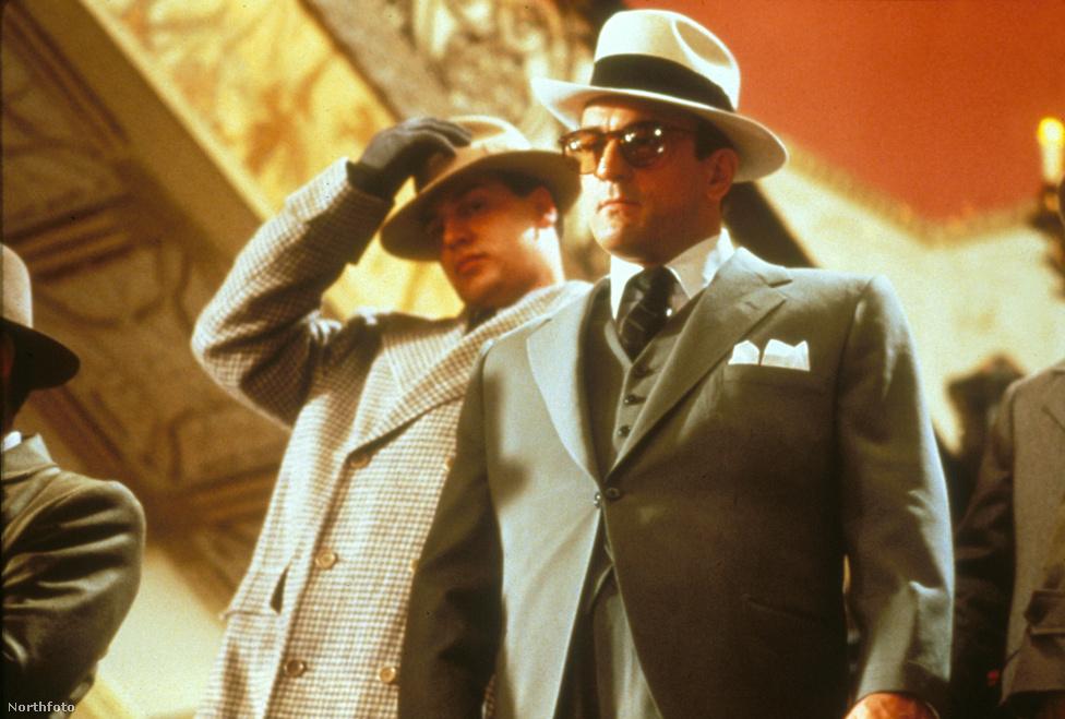 Al Capone szerepében az 1987-es Brian De Palma-filmben, az Aki legyőzte Al Caponétban. Bár ehhez a szerephez nem kellett annyit híznia, mint Jake LaMotta szerepe miatt, itt is hízókúrába kezdett, hogy jobban hasonlítson Caponéra. Meg is vásárolta a gengszter ruháinak egy részét, hogy még inkább átélhesse a szerepet.