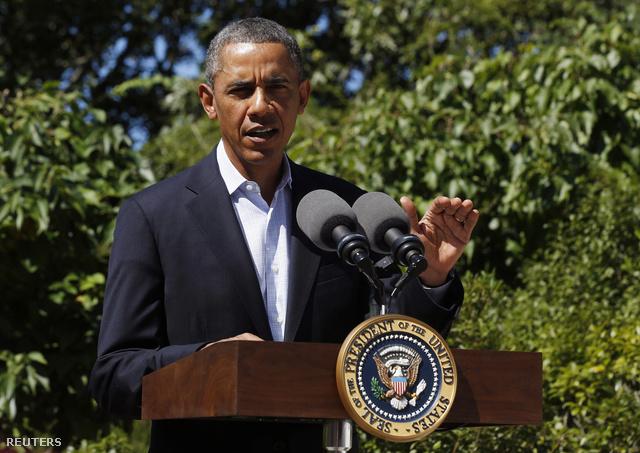 Barack Obama a mai sajtótájékoztatón