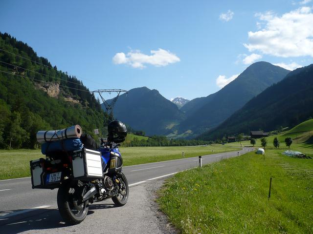 A Glockner előterében. Alpesi szimfónia - lentről