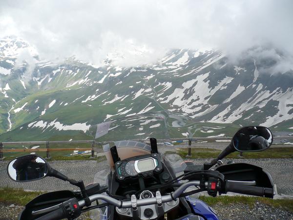 Kavargó láthatár. (Edelweisspitze, 2571 m)