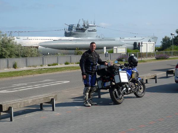 Kiel-Laboe - pihenés a Tengerészeti Emlékmű U 995-ös tengeralattjárója előtt