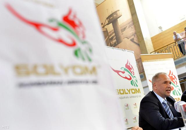 Vágó József a Sólyom Hungarian Airways Kft. vezérigazgatója