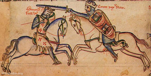 Knut és Vasbordájú Edmund