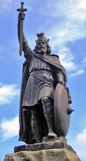 A Winchesterben emelt viktoriánus szobor