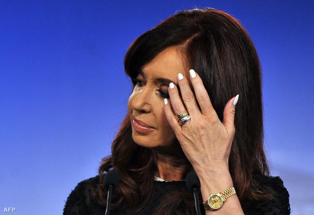 Cristina Fernandez de Kirchner, argentin elnök