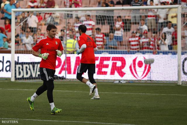 Casillas és Diego Lopez edzenek