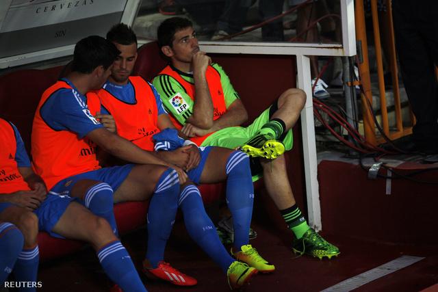 Casillas a kispadon a Granada ellen