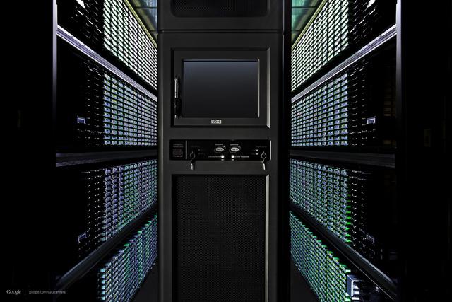 A Google egyik adatközpontja