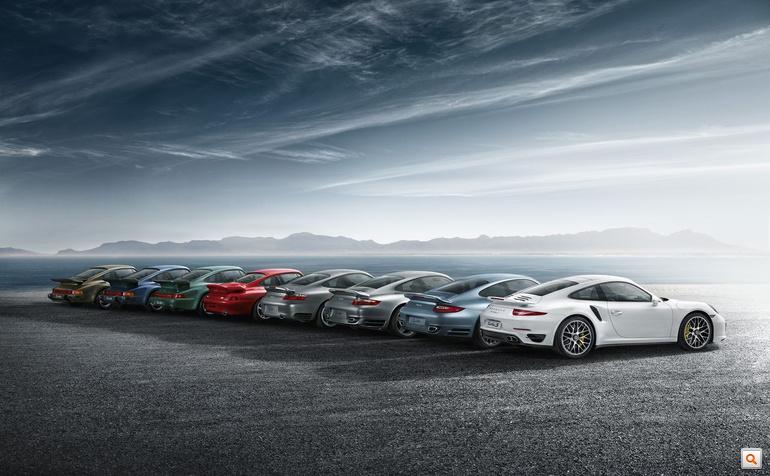 Porsche 911 Turbo sajtógaléria