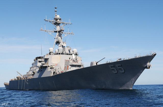 A USS Stout romboló