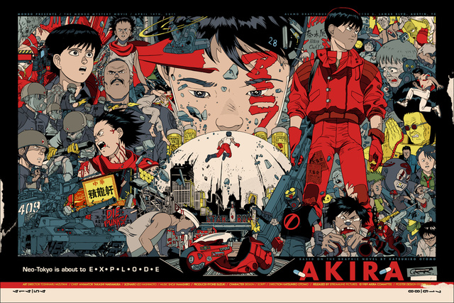 Akira-poster-by-Tyler-Stout