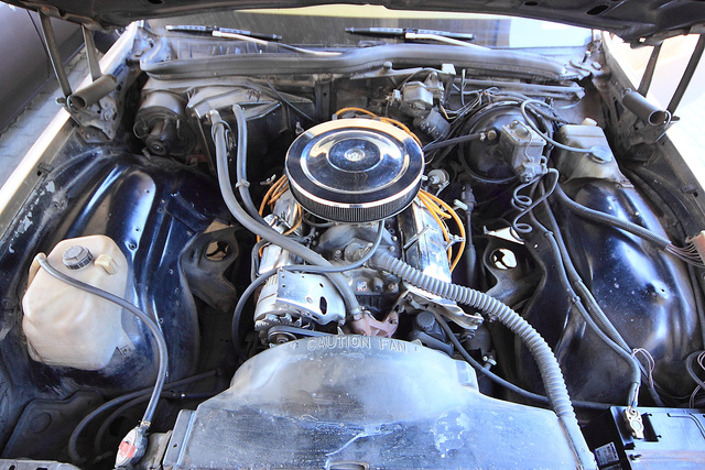 350 cui Chevy small block V8
