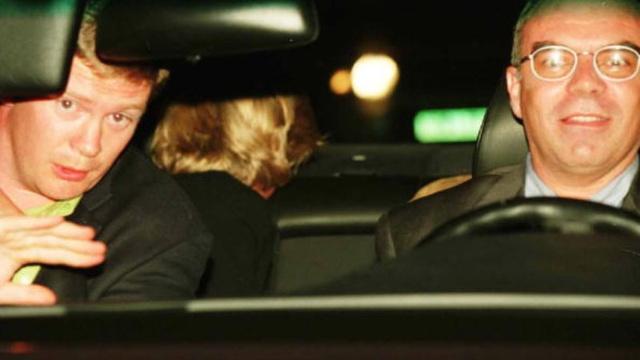 A hercegnéről, testőréről és a sofőrről készült utolsó fotó