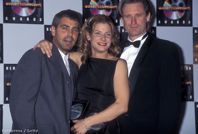 Clooney és Bullock 1995-ben