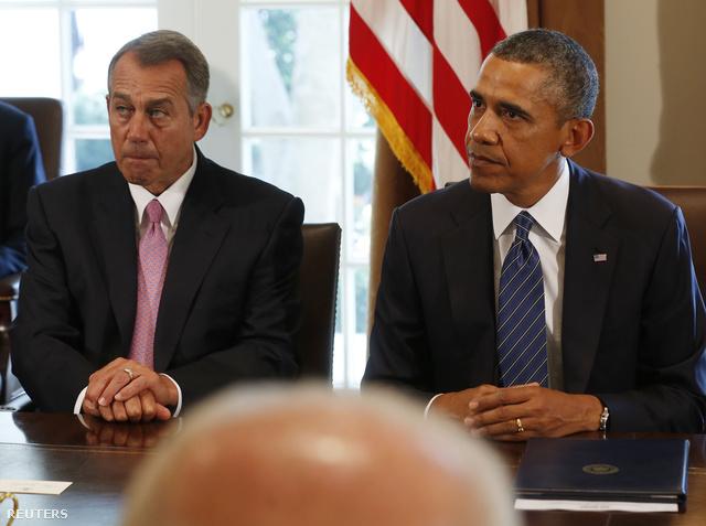 John Boehner  és Barack Obama