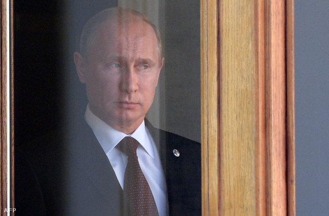 Vlagyimir Putyin a G20 találkozón